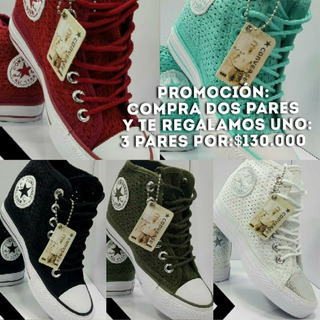 Zapatos Converse Tacon en Mercado Libre Colombia