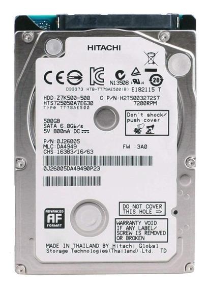 Disco rígido interno Hitachi Travelstar HTS725050A7E630 500GB