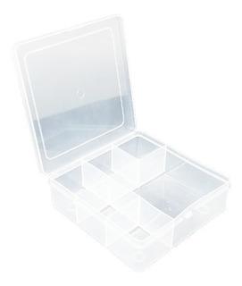 30 Caixas Organizadoras Plásticas Guloseimas 6 Divisórias