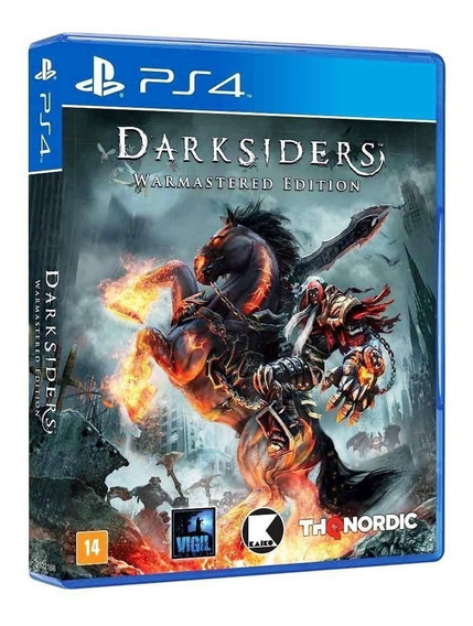 Jogo Darksiders Warmastered Edition Ps4 Mídia Física
