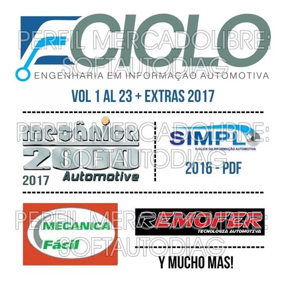 Ciclo 2017 + Simplo 2016 Esquemas Eléctricos De Ecus (link)