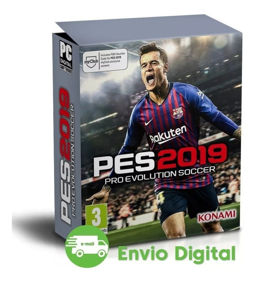 Pro Evolution Soccer 2019 Pc Pes 19 Português Mídia Digital