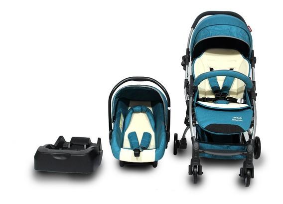 Coche Avanti Travel System Millenium Sky Green Petit Baby