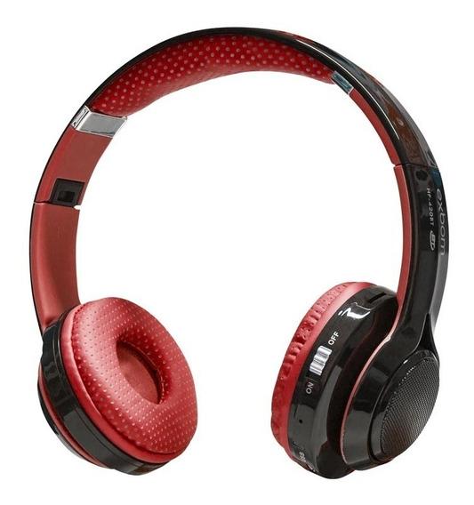Fone De Ouvido Com Bluetooth / Fm Exbom Hf-420bt