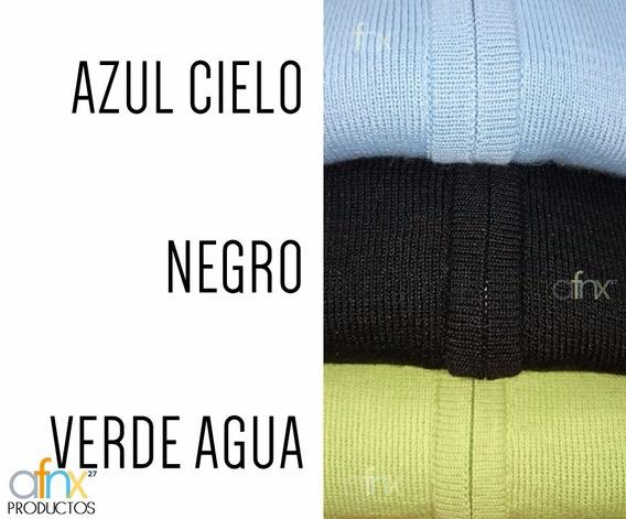 Sueter De Cierre Cuello Alto Talla Única ( Hecho En Perú)
