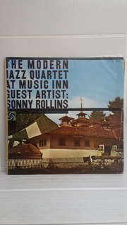 Lp The Morden Jazz Quartet At Music Inn Guest Sonny Rollins