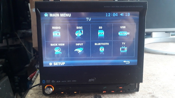 Dvd Retrátil Midi Md-7013tsdv (com Defeito)