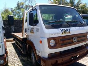 Oportunidade Caminhão Vw 8.160 Guincho Com Prancha Temos 15