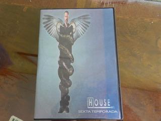 Dvd Serie Dr. House 6 Temporada