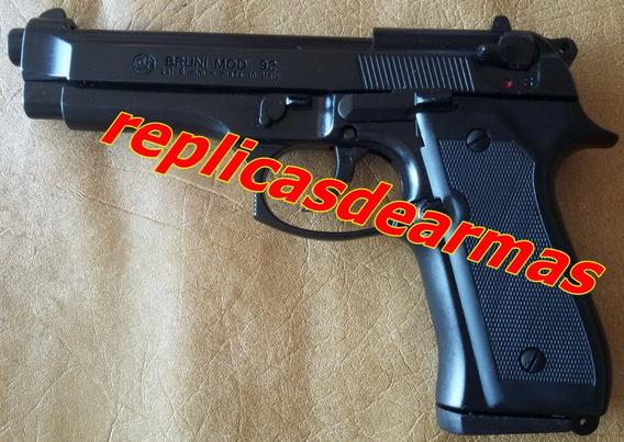 Pistola De Fogueo Beretta 92 Pavon 9 Mm
