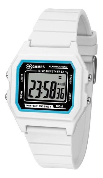 Relógio X-games Digital Branco Xlppd028bxbx