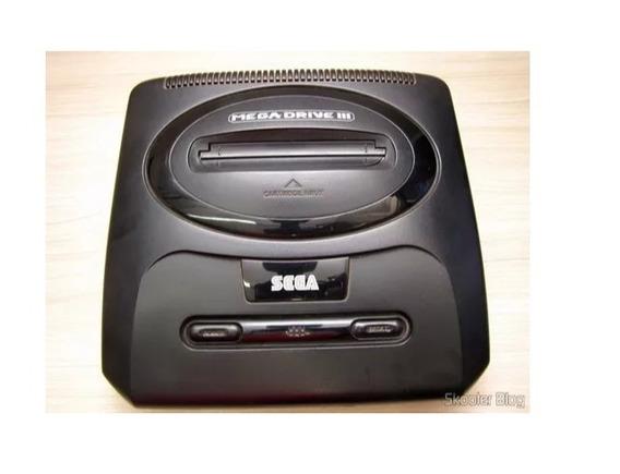 Videogame Mega Drive 3 Tec Toy Apenas Console Seminovo