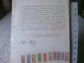 Fls4 - Documento Com Selos De Fiscais Do Brasil