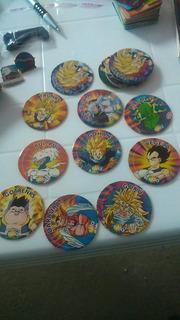 16 Tazos Dragon Ball Z