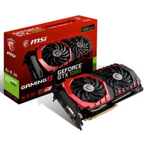 Placa De Video Msi Geforce Gtx 1080 Gaming X 8g 8gb Gddr5x P