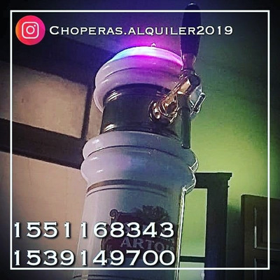 Alquiler De Choperas Stella Artois,warsteiner,quilmes,brahma