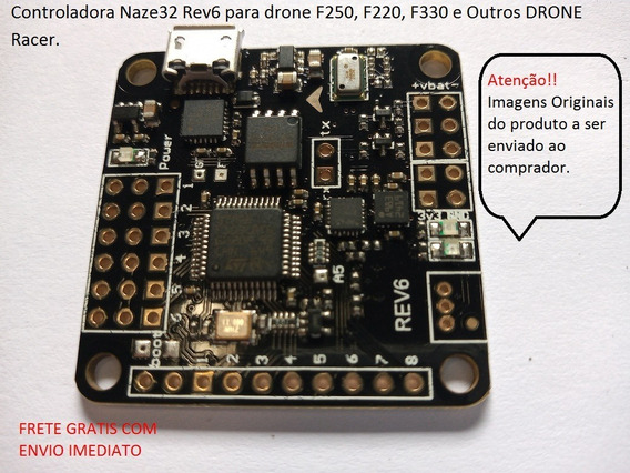 Controladora Naze32 Rev6 10dof Full Drone F250, F330. F220