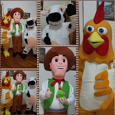 Show Paw Patrol, Toy Story Y La Granja De Zenón.