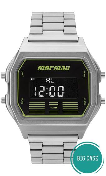 Relógio Masculino Mormaii Vintage Prata Mobj3715b/k3p Barato