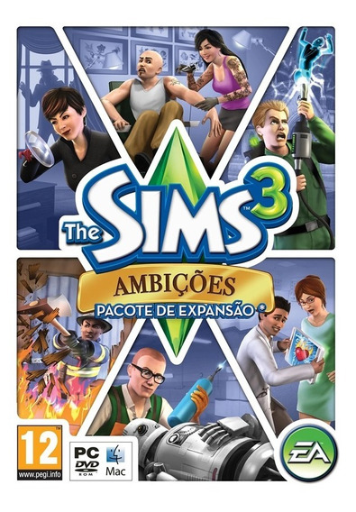The Sims 3 Ambições Expansão Pc Origin Key