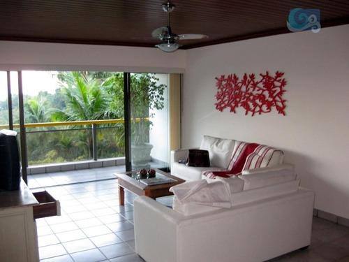 Imagem 1 de 30 de Apartamento À Venda - Condomínio Sorocotuba - Guarujá - Ap4010