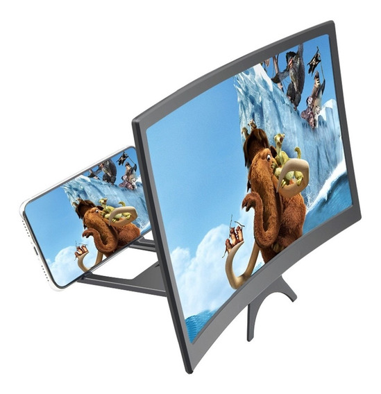 Ampliador-de-tela-de-celular-projetor-tela-preto