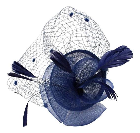 Casamento Royal Ascot Raças Feather Fascinator 20s Charlesto