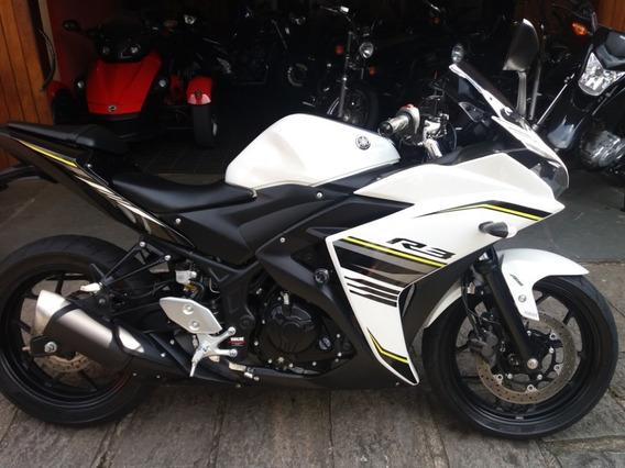 Yamaha R3 Abs Branca Ano 2018