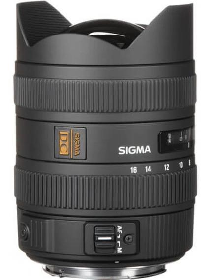 Lente Sigma 8-16mm Dc Hsm Para Canon