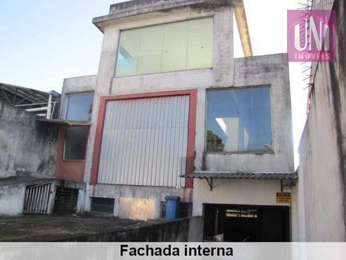 Galpão  Industrial À Venda, Vila Vermelha, São Paulo. - Ga0066