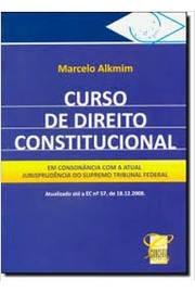 Curso De Direito Constitucional Em Conso Marcelo Alkmim