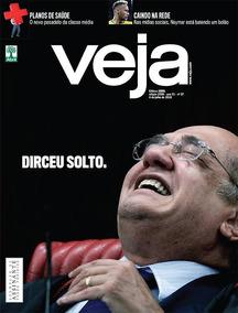 Revista Veja #2589 04/07/18 Dirceu Solto.