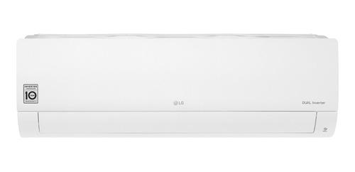 Aire acondicionado LG Dual Cool Inverter split frío/calor 5545 frigorías blanco 220V S4-W24KE3A1