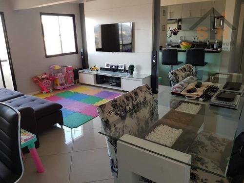 Imagem 1 de 14 de Apartamento Com 2 Dormitórios À Venda, 74 M² Por R$ 382.000,00 - Vila Rosália - Guarulhos/sp - Ap0185