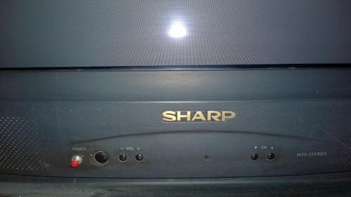 Imagen 1 de 4 de Televisión Sharp 29 Pulgadas Análoga