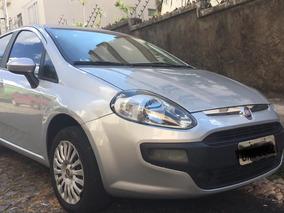 Fiat Punto Attractive 1.4 Abaixo Da Tabela 2014 Cinza