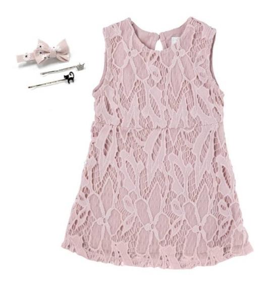 Vestido De Encaje Para Niñas Talla 8 - 10