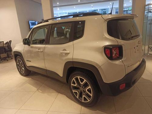 Jeep Renegade Longitude Entrega Pactada (retire Con 30%)