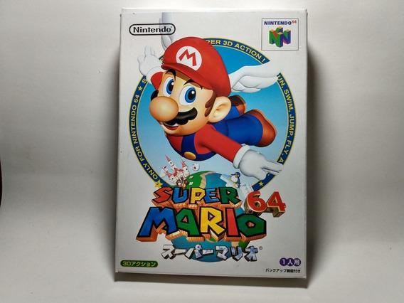 Super Mario 64 - Original Japonês Para Nintendo 64 N64