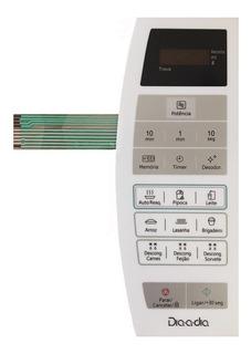 Membrana Teclado Microondas Panasonic Nnst 254w Nn-st254w