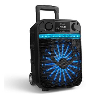 Parlante Bluetooth Portátil Philips Party Speaker Tanx20/77