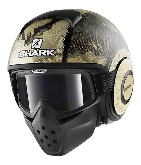 Capacete Shark Drak Evok Fosco Kgs 56
