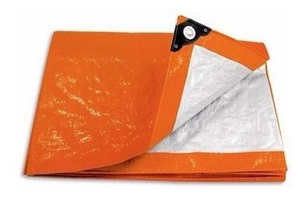 Lona Toldo Impermeable Pretul Naranja 3 X 3 Metros Mf Shop