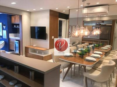 Apartamento Duplex Com 3 Dormitórios À Venda, 131 M² Por R$ 1.089.946 - Jardim - Santo André/sp - Ad0027