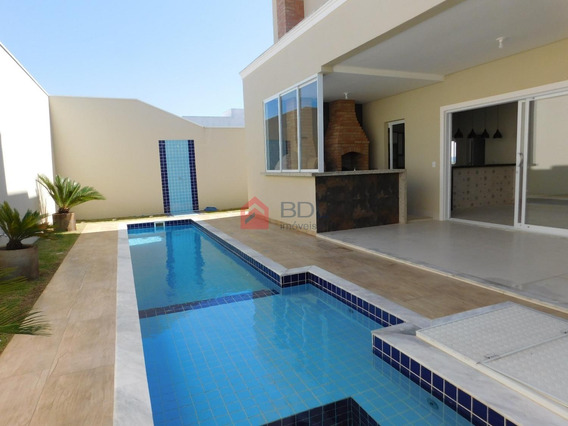 Casa À Venda Em Loteamento Parque Dos Alecrins - Ca001383