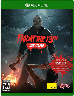 Friday The 13th Xbox One - Envío Gratis Nuevo