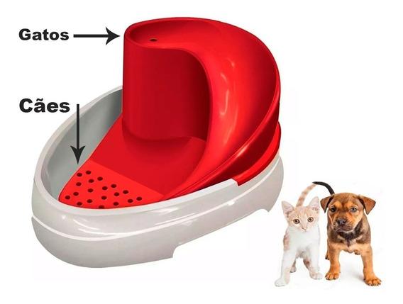 Bebedouro Felino Fonte Tobo Fonte Automático Cães E Gatos - Mec Pet - Bivolt - Bebedouro Canino -