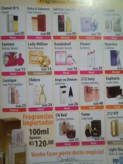 Kit 2 Perfumes Traducões Gold 100ml Oferta + Frete