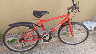 Bicicleta Rod 24 Con 9 Cambios