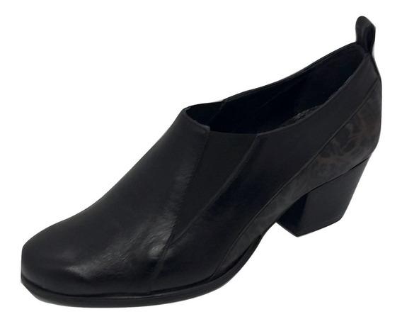 Zapato Vestir Con Taco